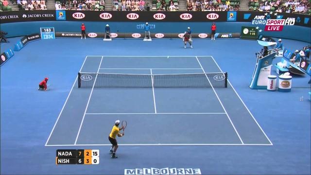 Nadal vs Nishikori, Australian Open 2014 (1/8 Finale), highlights HD – 4th Round – 20/01/14