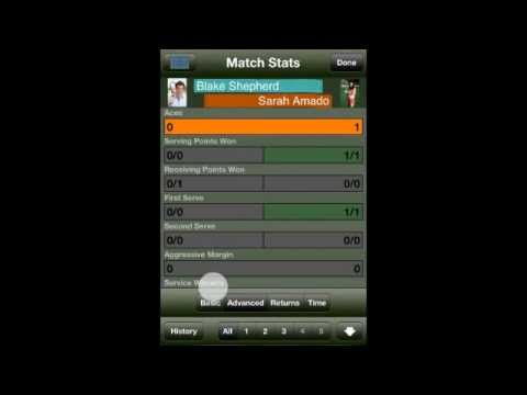 Tennis Score Tracker Scoring Modes Demo