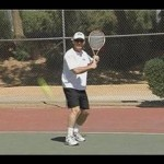 Tennis Approach Shots : Hitting a Backhand Slice in Tennis