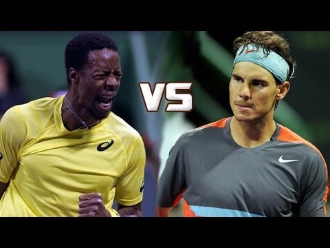 Rafael Nadal Vs Gael Monfils FINAL HIGHLIGHTS QATAR OPEN 2014 [HD]