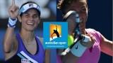 Julia Goerges vs Sara Errani Australian Open 2014 Highlights