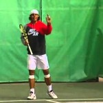 Rafa Nadal Tennis Passing Shot 1