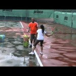 Tennis Malaysia, lesson by Coach Youhardy – Forehand drill to develop muscle memory