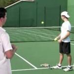 Tennis Serve Progressions Step 3: Toss