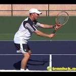 Pro Tennis Lessons – James Jensen – volley