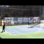 SNHU Men's and Women's Tennis Highlights vs. AIC 04/06/2014