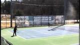 SNHU Men's and Women's Tennis Highlights vs. AIC 04/06/2014