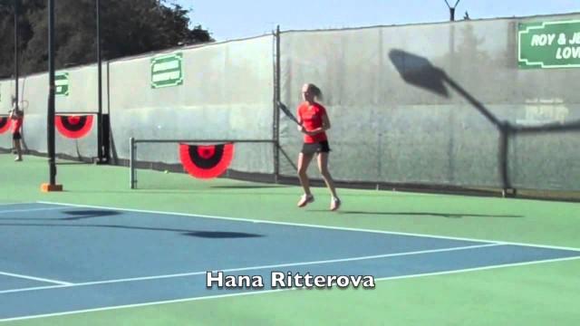 Pacific Women's Tennis Highlights vs. UC Davis, Jan. 25, 2014
