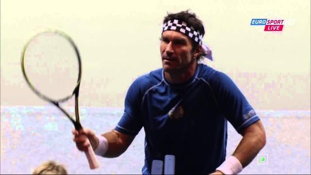 Ivan Lendl vs. Pat Cash – World Tennis Day 2014 Highlights [HD]
