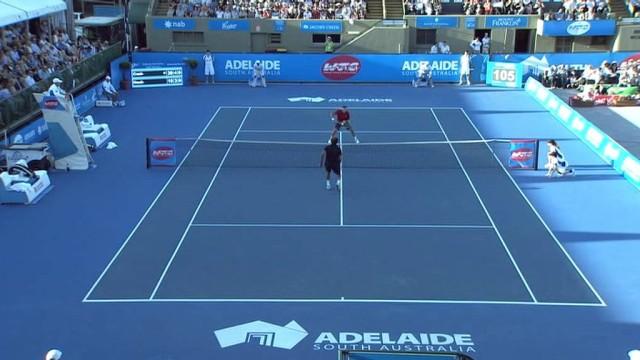 Cash vs Noah Highlights – World Tennis Challenge 2014