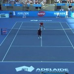 Cash vs Noah Highlights – World Tennis Challenge 2014