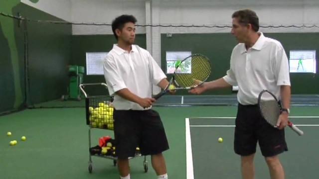 Basic Serve – Rich's Tennis School – Erie Colorado