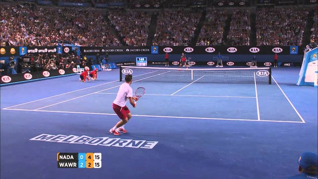 Wawrinka v Nadal highlights (men's final) – 2014 Australian Open