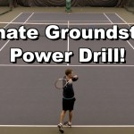 Ultimate Groundstroke Power Drill – Forehand Tennis Lesson – Power Instruction