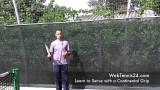 Tennis Serve Progression – the continental grip