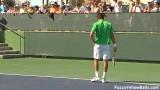Professionelles Video Lessons Tennis Technique Serve TopSpin Vorhand