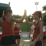 Women's Tennis highlights: TCU (Big 12 quarterfinals) [April 25, 2014]