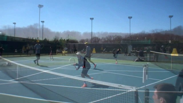 Men's Tennis – Oberlin Highlights – Apr. 19, 2014