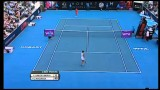 Estrella Cabeza Candella v Garbine Muguruza Hobart International Tennis 2014 – Match Highlights