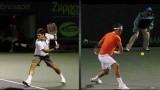 Roger Federer's topspin backhand 360 degree breakdown 2.0