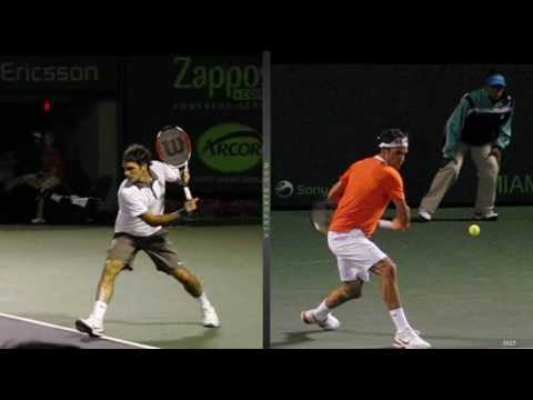 Roger Federer's topspin backhand 360 degree breakdown 2.0