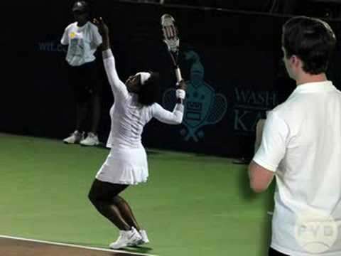 Tennis Serve Racket Drop