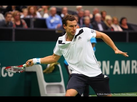 (HD) Ernests Gulbis vs Juan Martin Del Potro Rotterdam 2014 QF – HIGHLIGHTS