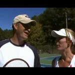 A Tennis Tip From Pete and Skip: How to Hit a Topspin Forehand