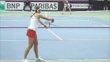Tennis Fed Cup 2014 Budapest Highlights 2.