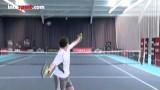 Tennis Serve  Slice Serve Technique