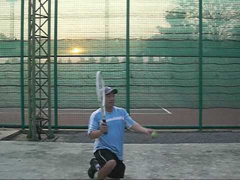 Tennis Lesson:  How to Serve Steps 1 to 5