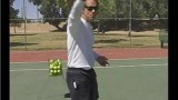Returning Serve in Tennis : Topspin Backhand Tennis Serve Returns