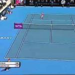 Samantha Stosur v Klara Zakopalova Hobart International Tennis 2014 – Match Highlights