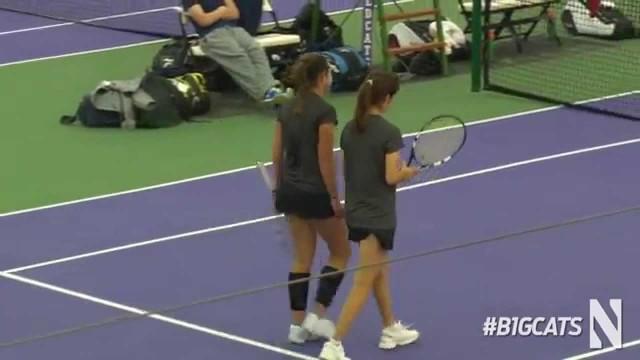 Women's Tennis BTT: Indiana vs. Penn State Match Highlights