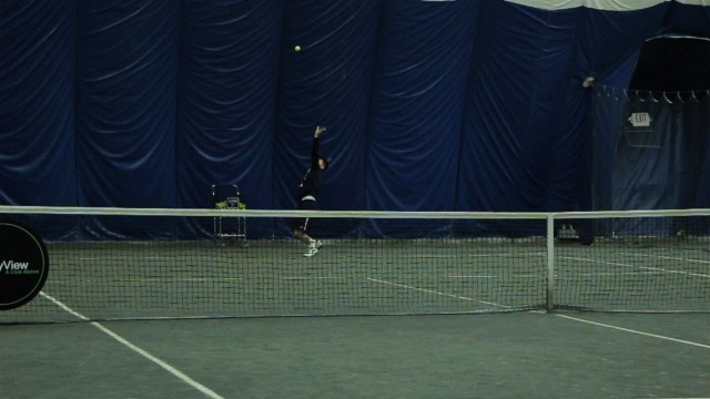 How to Hit a Kick Serve   Tennis Lessons