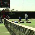 Tennis – Cal Poly men vs. UC Santa Barbara (match highlights, April 19, 2014)