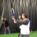 Bill Bartlett, USPTA Tennis Pro, Tennis Video Lesson-Roger Federer Forehand in Three Easy Steps
