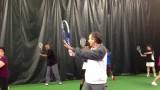 Bill Bartlett, USPTA Tennis Pro, Tennis Video Lesson-Roger Federer Forehand in Three Easy Steps