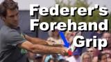 Roger Federer's Forehand Grip Revealed – Forehand Tennis Lesson – Trip Instruction