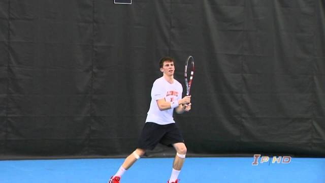 Illinois Men's Tennis vs Pepperdine Highlights 3/14/14