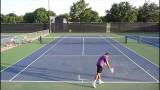 USTA 3.5 Mens Singles tennis practice match highlights 05-19-2014