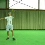 Tennis Lessons:Tennis Aufschlag / Serve