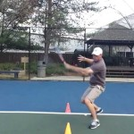 Forehand Tennis Lesson: How to handle high balls like the Pros