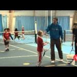 LTA Mini Tennis – tennis coaching (Red Rally 5 Serve)