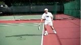 Tennis Backhand Topspin Drive – Taking It On The Rise