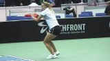 Tennis Fed Cup 2014 Highlights In Slow Motion 1.