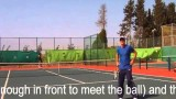Tennis Volley like a pro with drills