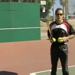 Beginner Tennis : Beginner Tennis: Backhand Slice