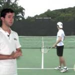 Tennis Kick Serve Progressions: Step 2: Follow Through