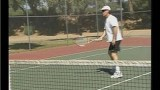 Tennis Approach Shots : Hitting a Forehand Slice in Tennis